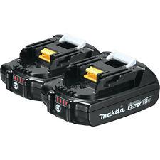 Makita 18V 2.0 Ah Compact Lithium-Ion Battery (2-Pack) BL1820B-2 New
