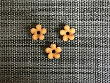 laser cut mdf flowers PACK OF 25 craft embellishments 2cm wide 3mm thick