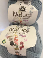 DMC Natura Cotton Yarn - 10 Skeins COLOR: Azur N56