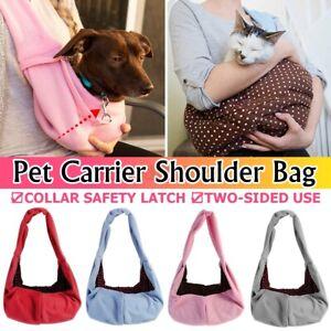 Cat/Dog Pet Carrier Soft Sided Comfort Bag Travel Pouch Sling Backpack