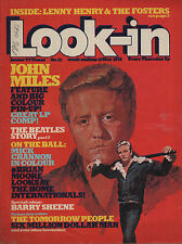 Look-In Magazine No.21  15 May 1976   John Miles  The Beatles   Lenny Henry