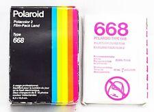 POLAROID, Filmkassetten, Polacolor 2 Type 668, in Originalverpackung, 201880