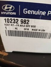 Genuine Hyundai 49508-34B30 Axle Wheel Joint and Shaft Kit Front