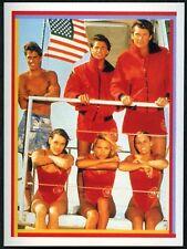 Baywatch Group Shot #1 Baywatch Merlin 1993 Sticker (C1255)