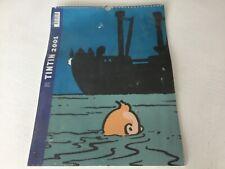 CALENDRIER TINTIN 2001, editions moulinsart, 40x30