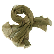 Army Scrim Net Scarf Tactical Face Veil Military Sorgo Airsoft Desert Camouflage