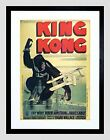 Wee Blue Coo Film Movie King Kong Wray Armstrong French Framed Wall Art Print