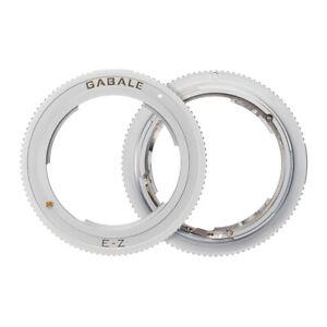Gabale Lens Mount Adaptor for Sony FE E MF Lenses to Nikon Z7 Z6 II Z5 Camera