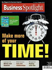 Business Spotlight 4 2012 English Time Money Finances Love Relationship Dealing