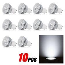 LED Globe Lamp Spotlight Downlight Bulb GU10(Color:Pure White) 10pcs/set