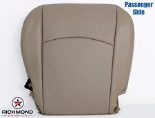 09-12 Dodge Ram Laramie -Passenger Side Bottom Perforated Leather Seat Cover Tan