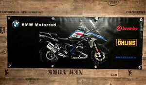 Fahne Werbung Banner für BMW Fans R1200GS GSA Adventure R 1200 GS LC Black