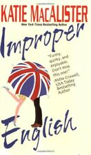 Improper English by MacAlister, Katie Book The Cheap Fast Free Post