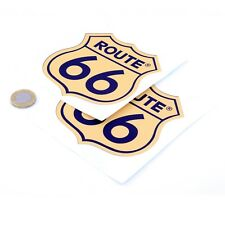 Route 66 Autocollants Badge Decal Vinyle Voiture 100 mm course x2 RALLYE USA MOTHER ROAD
