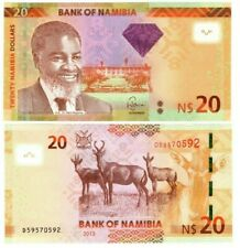 Namibia $20 Dollars (2013) P-12 Unc Banknote Paper Money