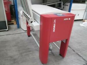 Agfa Azura C95 Plate Processor with Plate Stacker. Serial #AC11614B.