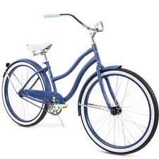 """Huffy 26"""" Cranbrook Women's Comfort Cruiser Bike Storm Blue"""