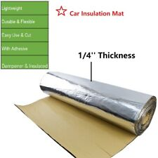 Block Soundproof Heat Insulation Mat - Noise Deadener Heat Barrier 39''x22''