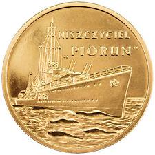 """Poland / Polen - 2zl Polish Ships – ORP """"Piorun"""""""