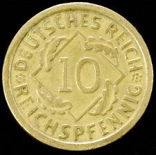 Germany (Weimar) 10 Reichspfennig 1924 to 1936 (Choose the Year) (GLI-001)