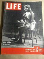 Vintage December 2, 1946 LIFE Magazine INGRID BERGMAN in JOAN OF LORRAINE