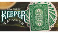 Bicycle Ellusionist GREEN Keeper Reloads Deck US Playing Cards Magic Poker