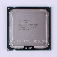 Intel Pentium D 945 SL9QQ SL9QB LGA 775 3.4 GHz 800 MHz Dual-Core CPU Processor