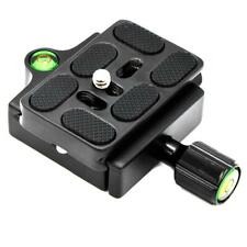 """Universal QR Clamp Quick Release Plate Aluminum With 1/4-3/8"""" Screw Adapter 60mm"""