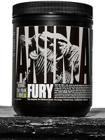 Universal Animal Fury Servings Pre-Workout Powder Citruline BCAA Tyrosine