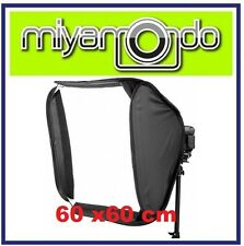 60x60cm Portable Soft Box Softbox Kit For Flash Photography