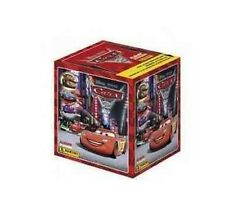 DISNEY PIXAR CARS 2 STICKERS  - (RED) - 50 SEALED PACKETS * FULL BOX * - NEW!