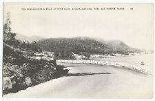 Bar Harbor ME Otter Cliff Mountain Road Acadia Vintage Postcard