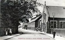 Primitive Chapel High Street Rocester Uttoxeter unused old  postcard Shaw Series