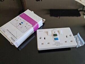 13A 2G RCD Switched Socket RCD9000 Knightsbridge