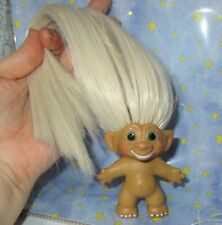SMILING ROOTIE 3-IN Custom Troll Doll rooted vintage 60s Martian Moon Wand Alien