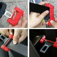 1PC Universal Car Seat Belt Buckle Silicone Cover Clip Anti-Scratch Cover Safety