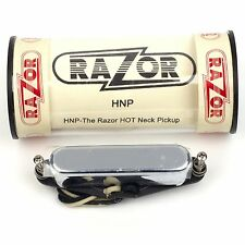NEW RAZOR HNP Hot Neck Pickup for Telecaster Guitar with Chrome Cover 10.7K