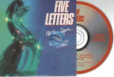 Five Letters Ma Keen Dawn CD SINGLE card sleeve 3 tracks 1989 musidisc