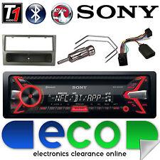 VAUXHALL Corsa C Sony CD MP3 USB Bluetooth Auto Stereo Grigio Fascia & sterzo Kit