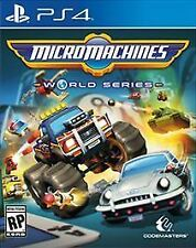Micro Machines World Series (Sony PlayStation 4, 2017) Disc Only Free Shipping