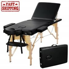 New Professional Portable Portable Massage Table w/ 84inch Solid Frame