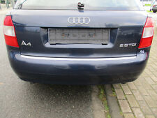 Stoßstange hinten Audi A4 B6 8E Avant MOROBLAU LZ5J Stoßfänger blau