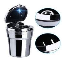 R24 KFZ Aschenbecher Autoaschenbecher LED Beleuchtung Getränkehalter Gluttöter