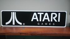 "ATARI Games Vintage style logo aluminum sign 6"" x 24"""
