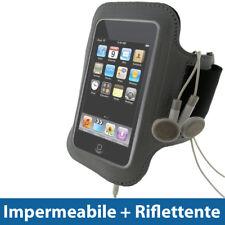 Argento Fascia Braccio per Apple iPod Touch 2G 3G 4G Armband Sport Corsa Fitness