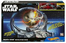 NIB STAR WARS Death Star Revolution Race Hot Wheels Motorized!