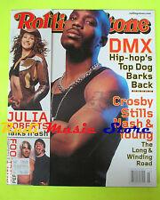 ROLLING STONE USA MAGAZINE 838/2000 DMX John McCain Julia Roberts CSN & Y No cd