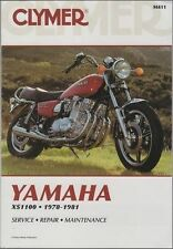 1978-1981 Yamaha XS1100/Special Clymer Repair Service Workshop Manual Book M411