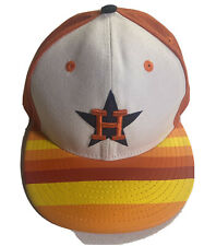 Houston Astros Fitted Hat Sz 7 5/8 Rare