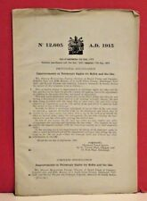 Daniel Fraser & Company-Patent Application-Telescopic Sights for Rifles-1916